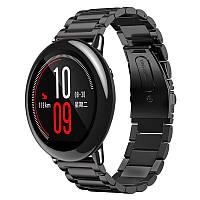 Металлический ремешок для часов Xiaomi Huami Amazfit Sport SmartWatch - Black
