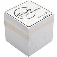 Блок 900 листов 90*90мм серый эконом