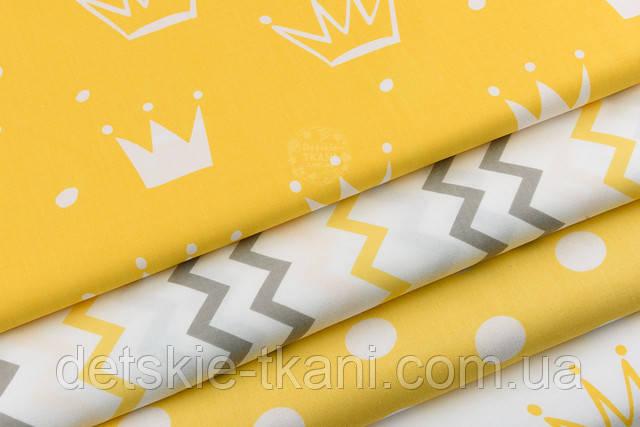 Жёлтая хлопковая ткань