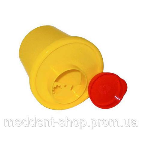 Бак для утилизации медицинских отходов 2.0 л, фото 2