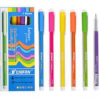 От 24 шт. Ручка масляная CF-803 синяя полосатая купить оптом в интернет магазине От 24 шт.