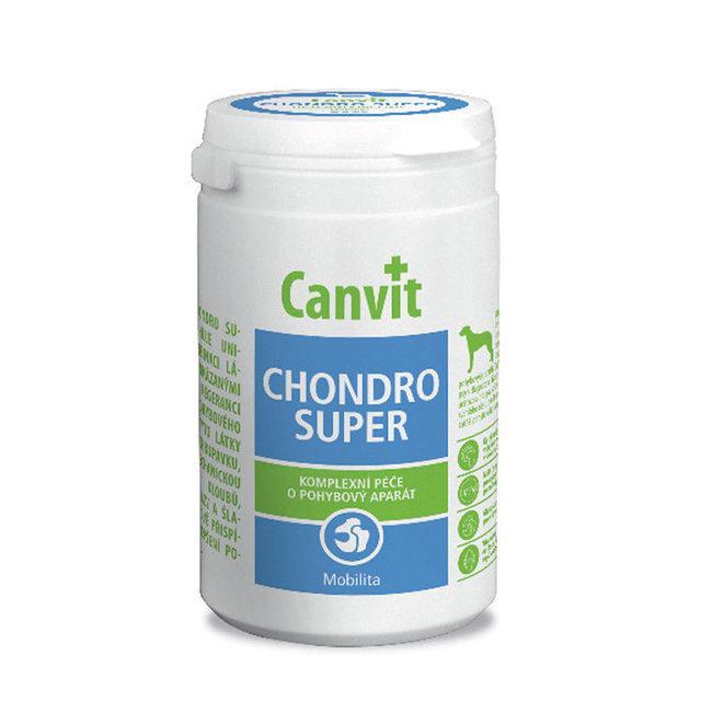 Canvit Chondro Super for dogs 230г - кормова добавка з глюкозаміном, хондроїтином та ЧСЧ