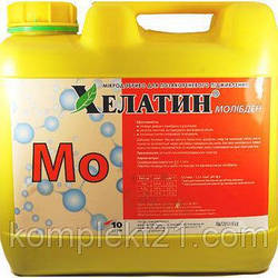 Удобрение Хелатин Молибден, 10 л