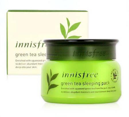 INNISFREE Ночная маска Green Tea Sleeping Pack 80ml