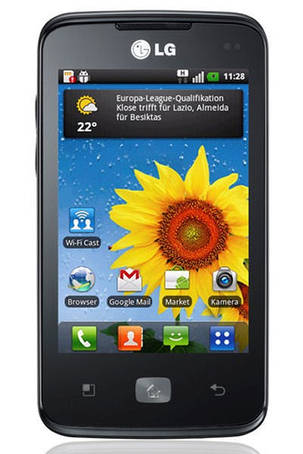 Чехол для LG E510 Optimus Hub
