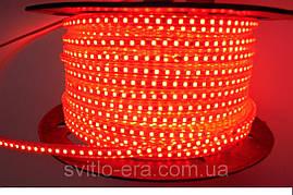Светодиодная Лента 220V SMD 3528 120 LED Красная IP67