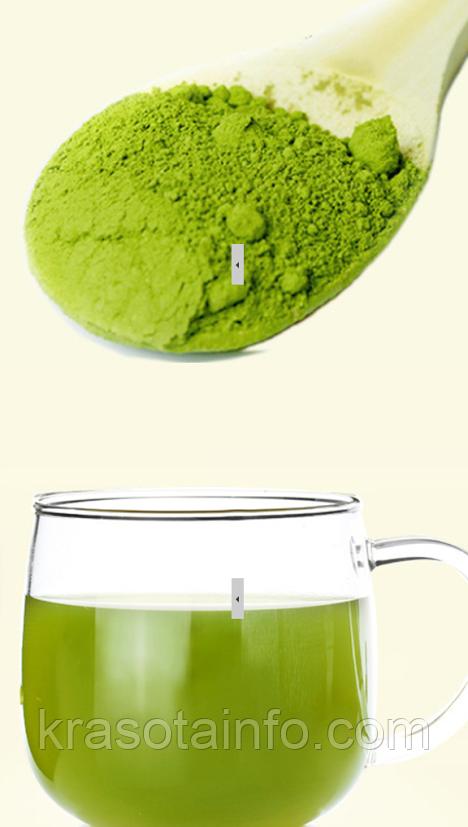 Чай Матча, зеленый чай в порошке, премиум качество, 100 гр. Производство сентябрь 2019 г, фото 1