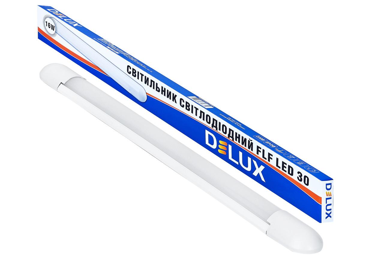 Светодиодный светильник DELUX FLF 30 Овал 16Вт Холодный белый 6500К