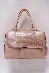 Женская комбинированная сумка Galanty 10516 w.red