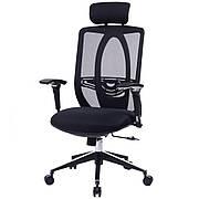 Компьютерное кресло офисное  barsky black chrom bb-01