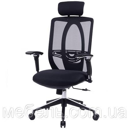 Кресло в офис Barsky Black Chrom BB-01, фото 2