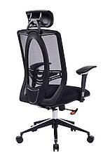 Кресло в офис Barsky Black Chrom BB-01, фото 3