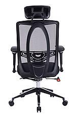 Офисное компьютерное кресло Barsky Black Сhrom BB-01, фото 3