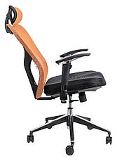 Офисное компьютерное кресло  barsky butterfly black fly-01 orange, фото 2