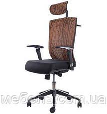 Офисное кресло Barsky G-4 ECO chair Orange, сеточное кресло, фото 2