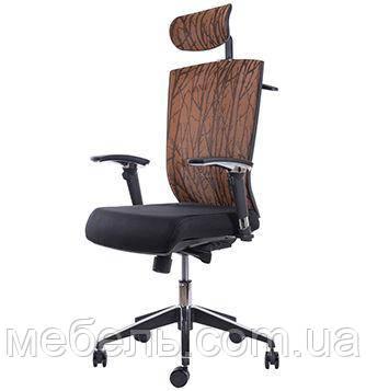 Кресло офисное Barsky Eco G-4 orange, фото 2