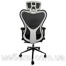 Офисное сеточное кресло Barsky Fly-03 Butterfly White/Black, фото 3