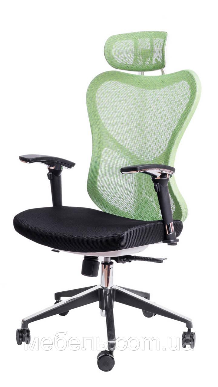 Офисное кресло Barsky Butterfly White Fly-04 green
