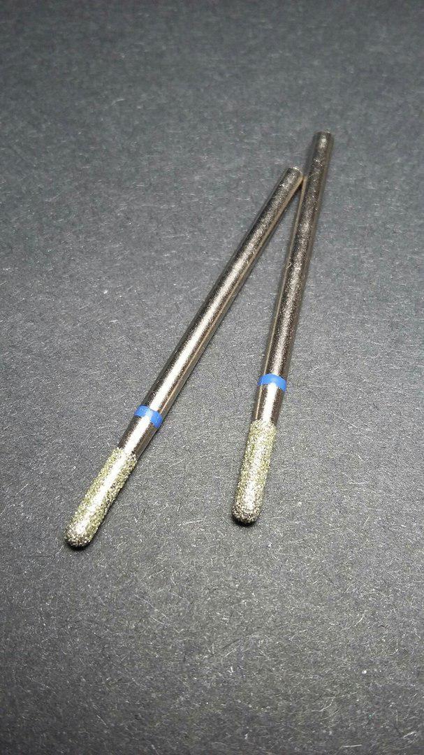 Фреза АМ-66 (синяя) для выпиливания из-под ногтя, верхней коррекции