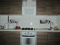 Кухня Под дерево из пленочного МДФ, фото 1