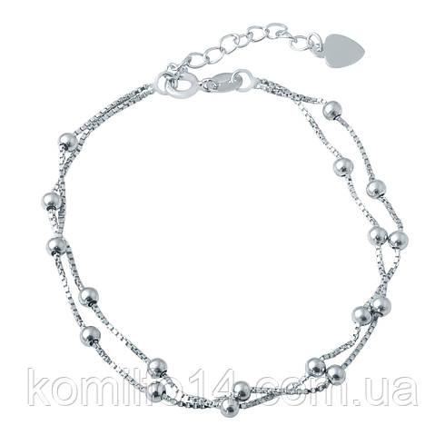 Женский серебряный браслет
