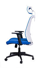 Офисное кресло Barsky Mesh BM-05 голубая сетка, фото 2