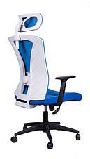 Офисное кресло Barsky Mesh BM-05 голубая сетка, фото 3