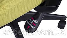 Кресло офисное Barsky Mesh BM-06 сетка олива, фото 3