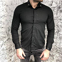 Рубашка мужская Givenchy 18497 черная, фото 1