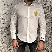Рубашка мужская Billionaire 18498 белая
