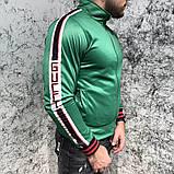 Кофта Gucci 18520 зеленая, фото 2