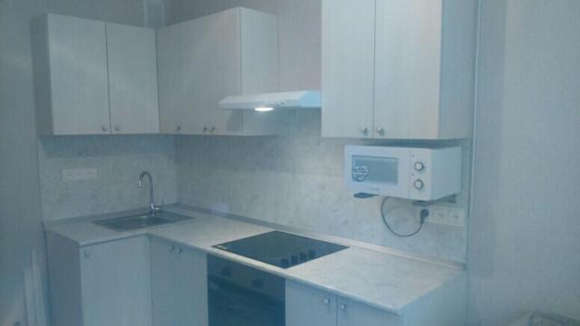 Кухня Бодега белый из пленочного МДФ