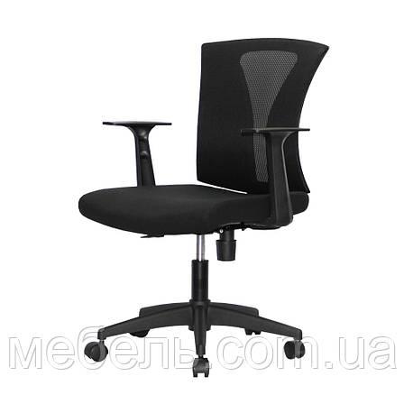 Кресло офисное Barsky Mesh Light Black BM-07 сетка, фото 2