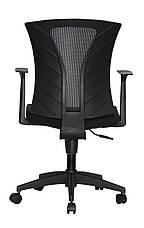 Кресло офисное Barsky Mesh Light Black BM-07 сетка, фото 3