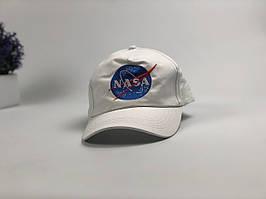 Кепка бейсболка NASA (белая)