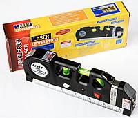 Уровень лазерный с рулеткой. 3х1. Универсальный, фото 1