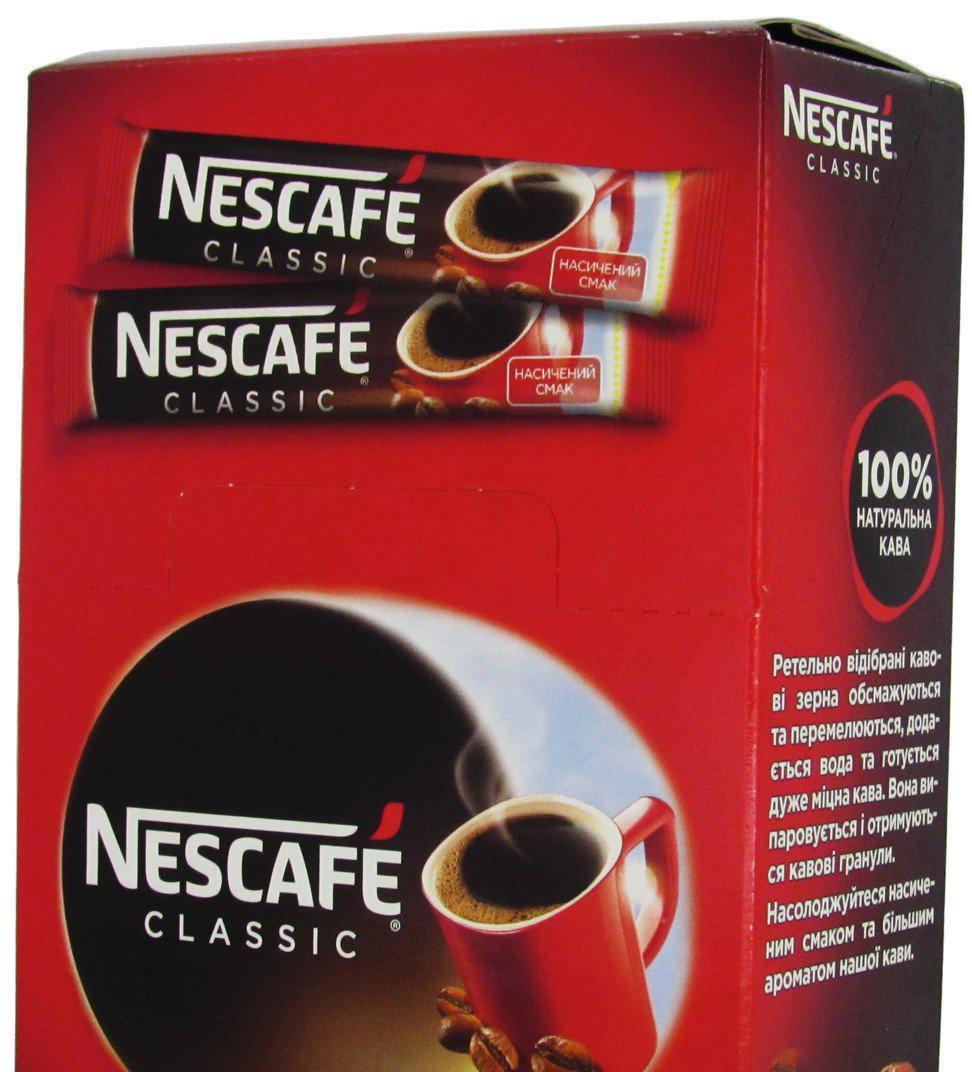 Кофе Nescafe Classic 25стиков