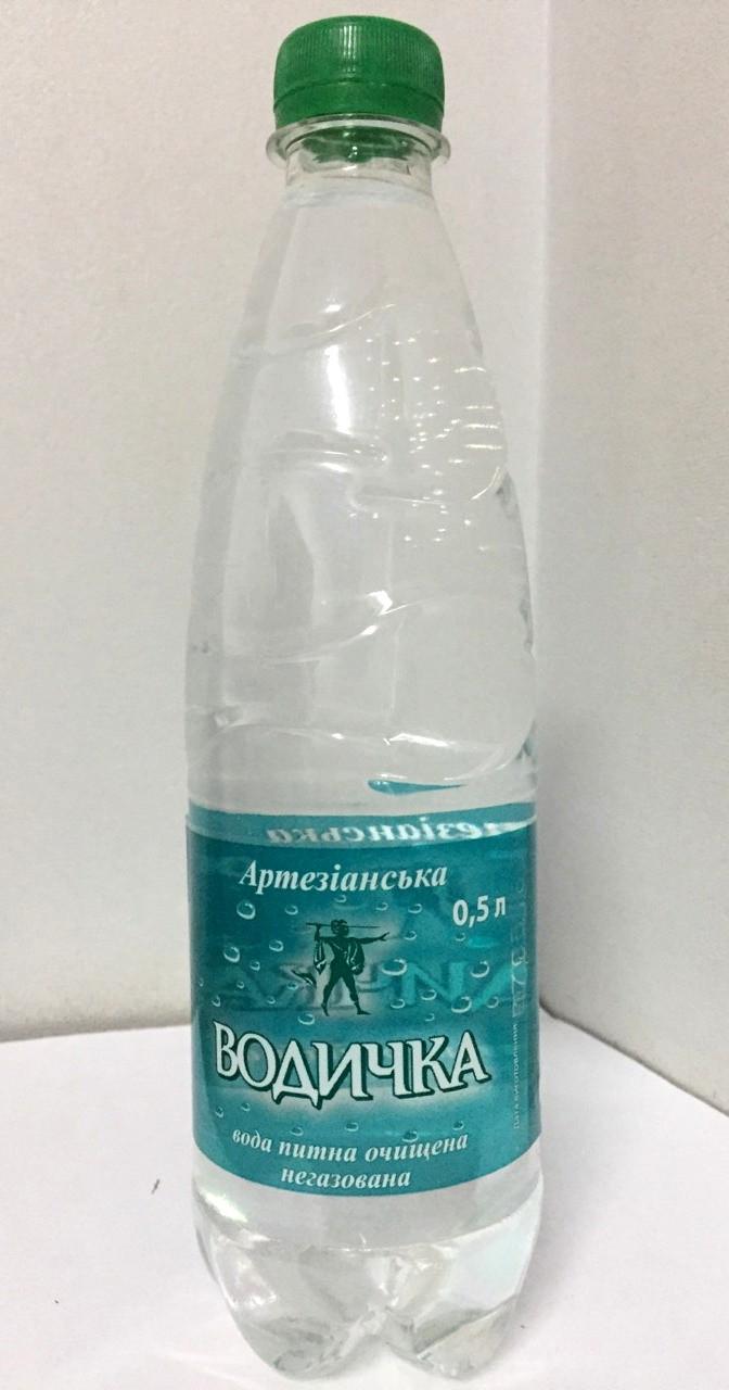 Минеральная вода Водичка негазированная 0,5л