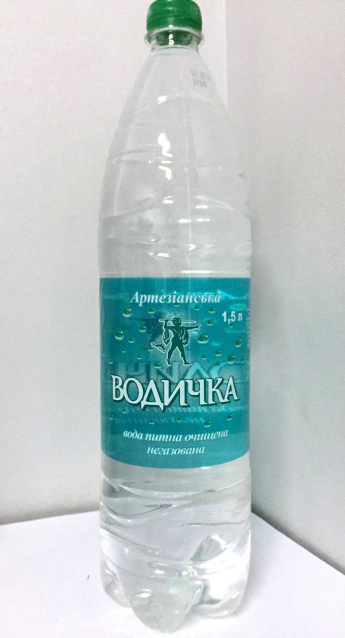 Минеральная вода Водичка негазированная 1,5л