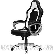 Компьютерное кресло Barsky SD-16 Sportdrive Game Black/White, геймерское кресло, фото 2