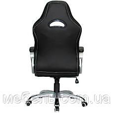 Компьютерное кресло Barsky SD-16 Sportdrive Game Black/White, геймерское кресло, фото 3