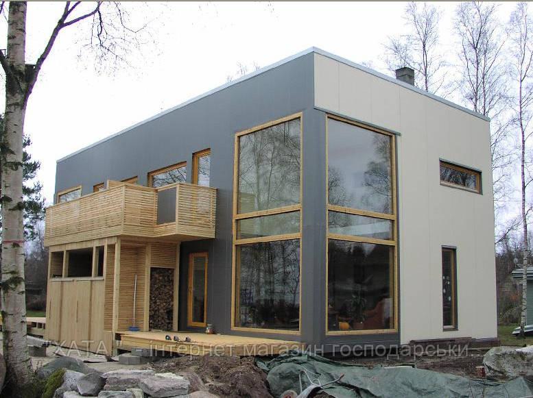 Заказать строительство дома из сэндвич панелей в Херсоне под ключ или под отделку. Рассчитать стоимость дома