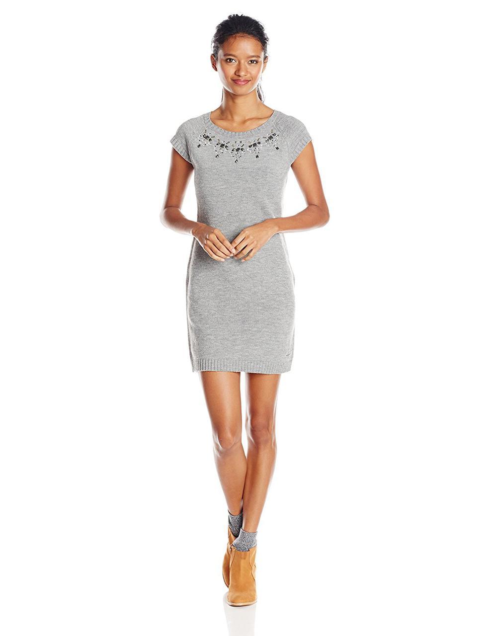Платье U.S. POLO ASSN., Medium Heather Grey Combo