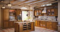 "Кухня ""Арена"" из массива, фото 1"
