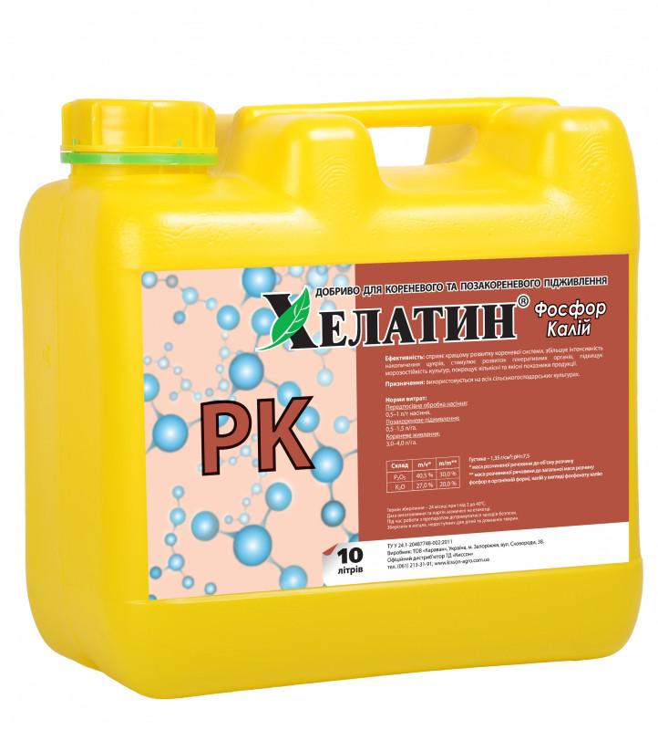 Хелатин Фосфор+Калій (40/27процентов) 10 л