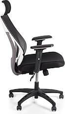 Кресло офисное Barsky Team White/Grey TWG-01, фото 3