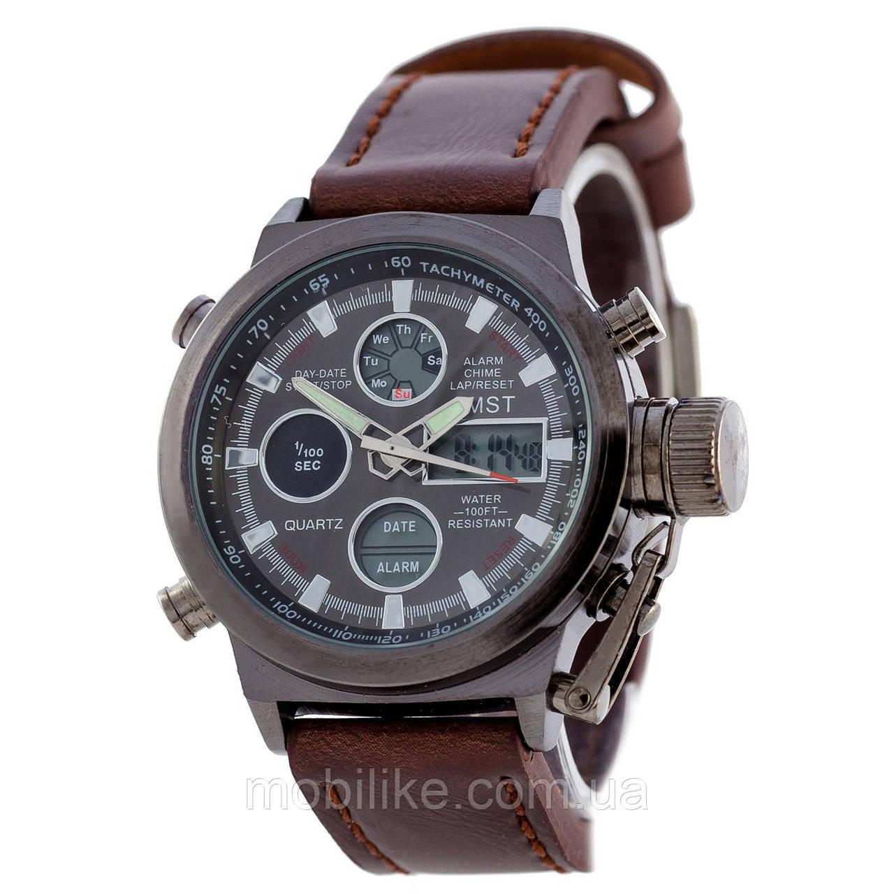 Наручные часы AMST C Black-Brown Wristband