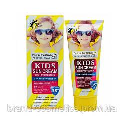 Солнцезащитный крем для детей Wokali  Sun Cream SPF 35+