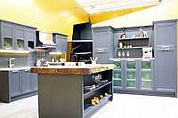 Кухня Манчестер Серый Жемчуг из массива, фото 1