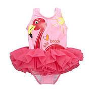 Купальник Фламинго (красн) 100,110,120,130, фото 1